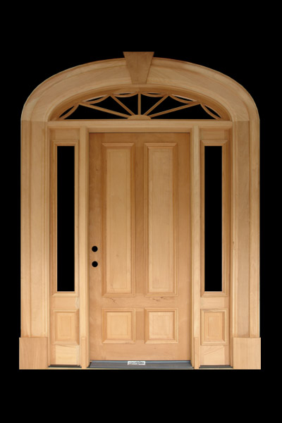 Front Doors With Windows Elliptical Transom T L Forest