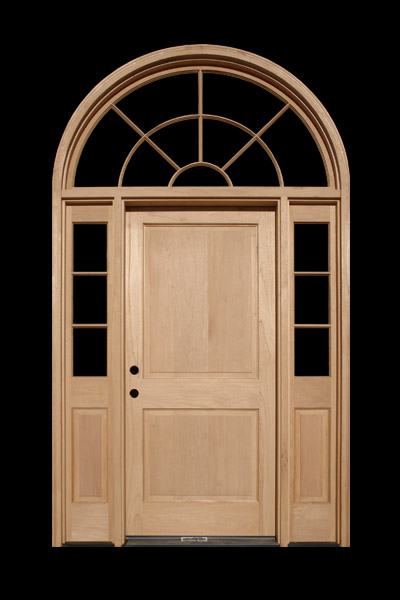 Half round transom t l forest products for Half round transom